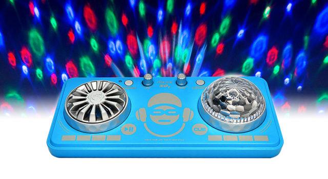 Platine de mixage avec effets lumineux XD1BL I DANCE – Visuel
