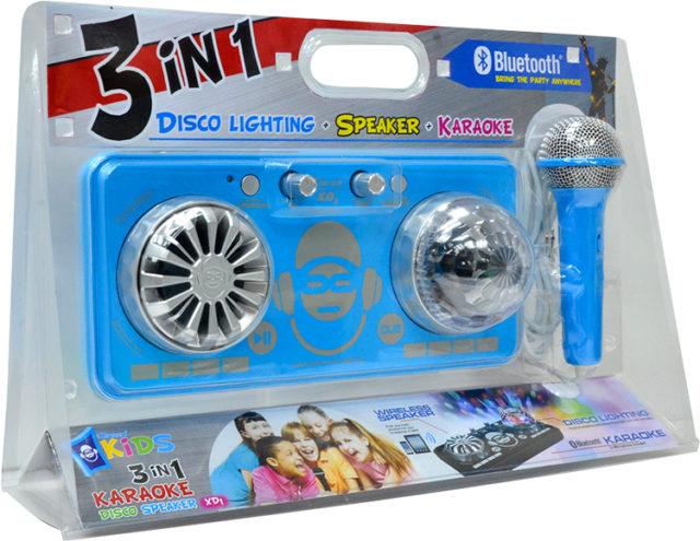 Platine de mixage avec effets lumineux XD1BL I DANCE – Visuel#1