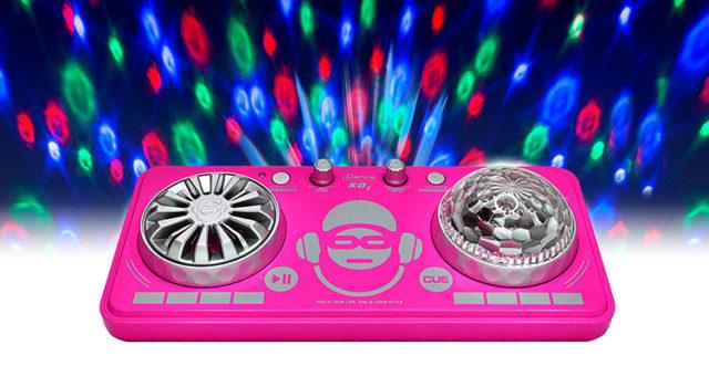 Platine de mixage avec effets lumineux XD1PK I DANCE – Visuel