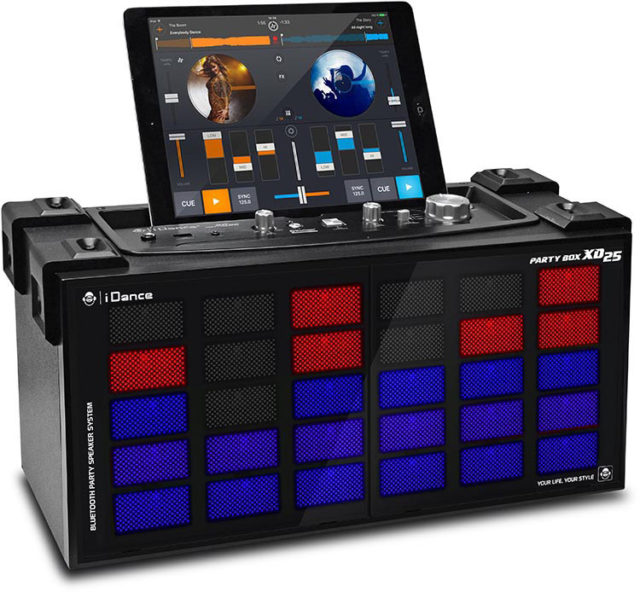 Système Bluetooth karaoke avec effet disco lumineux XD25 I DANCE – Visuel#1