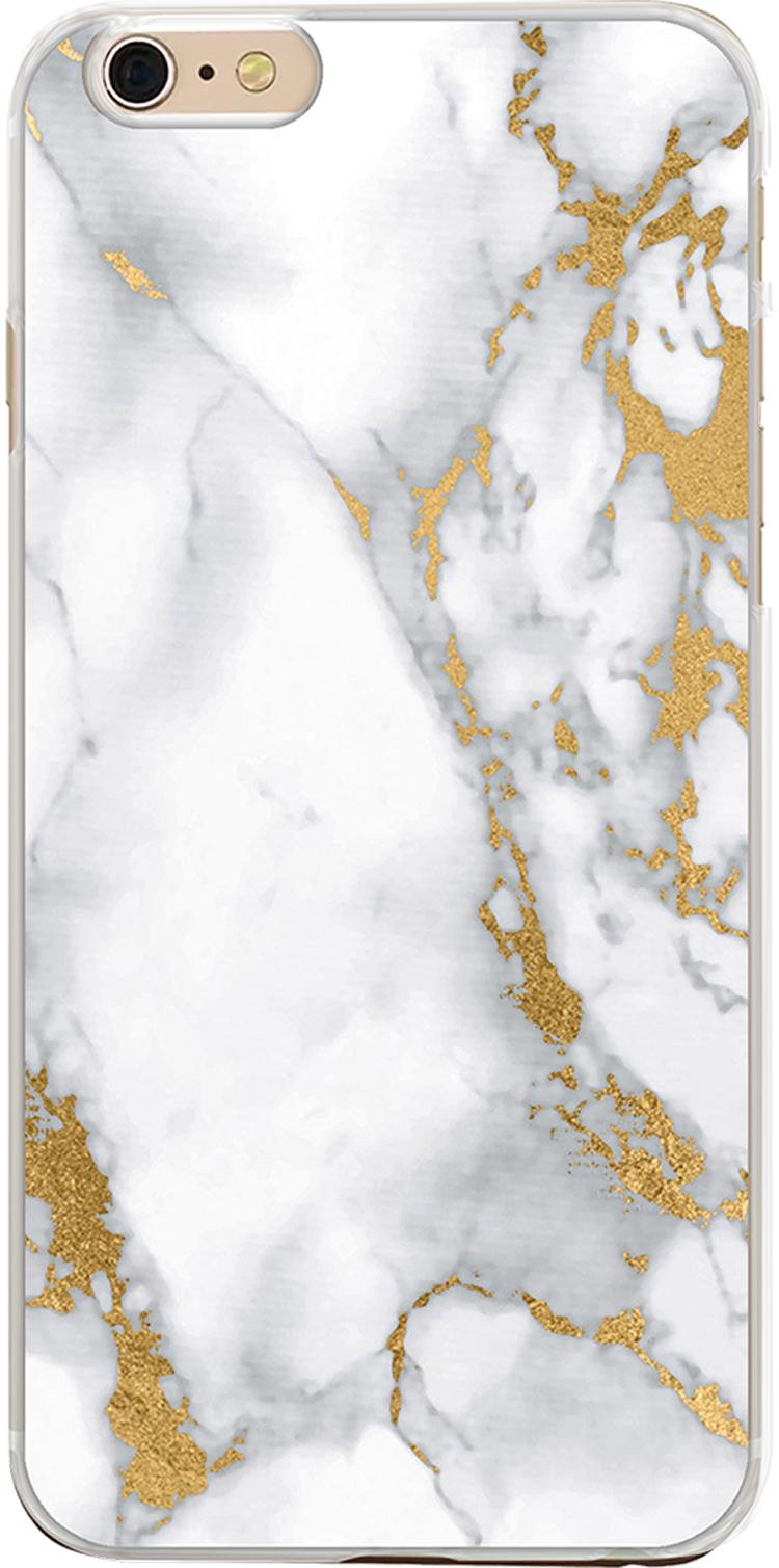 Coque semi-rigide brocatelle (blanc) - Packshot