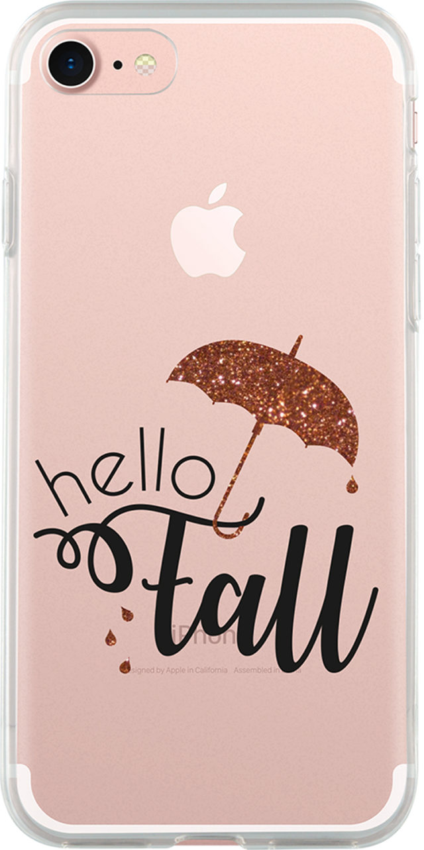 Coque semi-rigide Hello fall» (transparente) « - Packshot