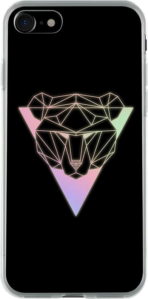 Coque rigide holograhique (ours) - Packshot
