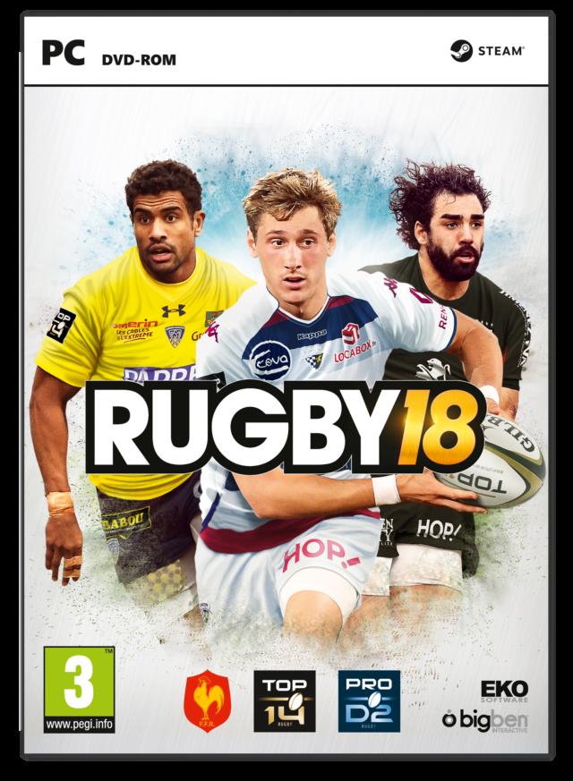 RUGBY 18 - Packshot