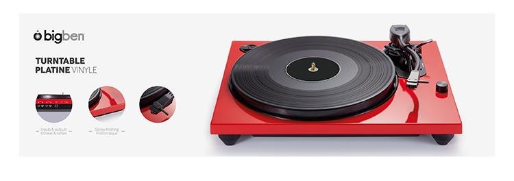 platine vinyle td114r bigben bigben fr sound accessoires gaming mobile tablette jeux vid o. Black Bedroom Furniture Sets. Home Design Ideas