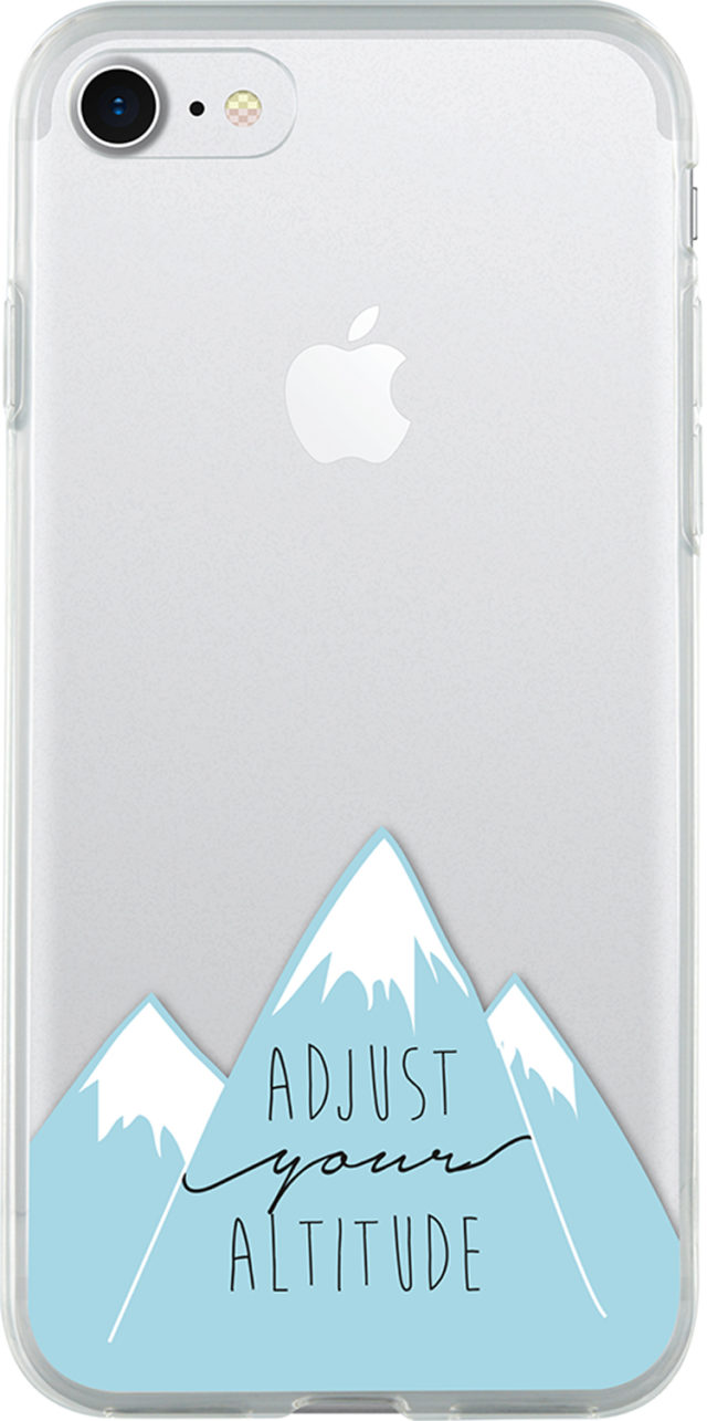 Coque semi-rigide transparente (Adjust your altitude) - Packshot