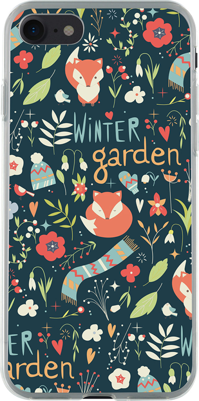Coque semi-rigide verte (Winter garden) - Packshot