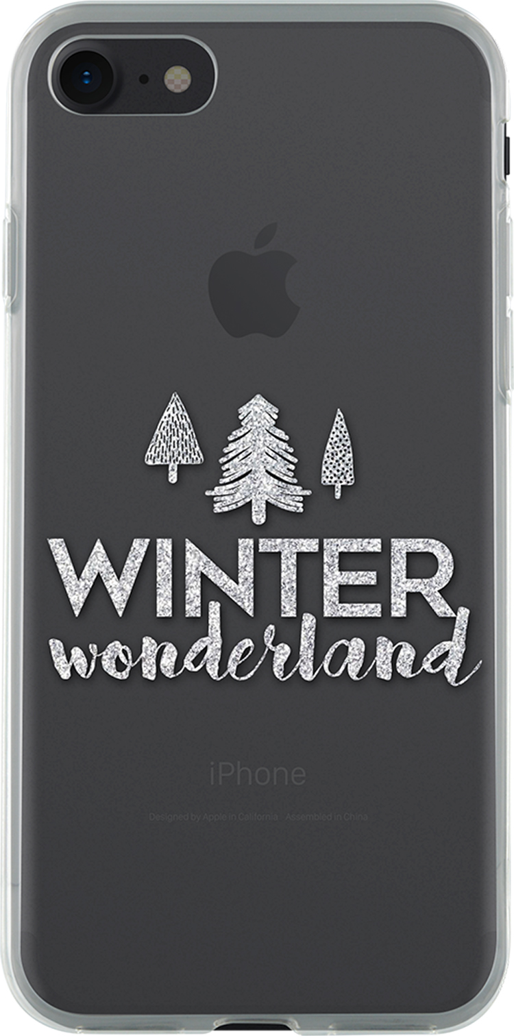 Coque semi-rigide transparente (Winter wonderland) - Packshot