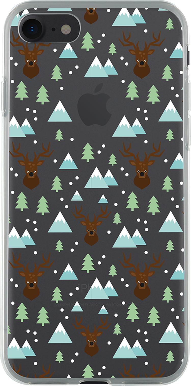 Coque semi-rigide transparente (Winter time) - Packshot