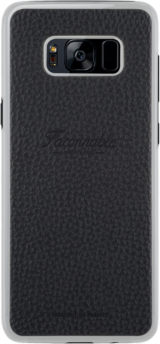 Coque rigide Façonnable French Riviera (Noir) - Packshot