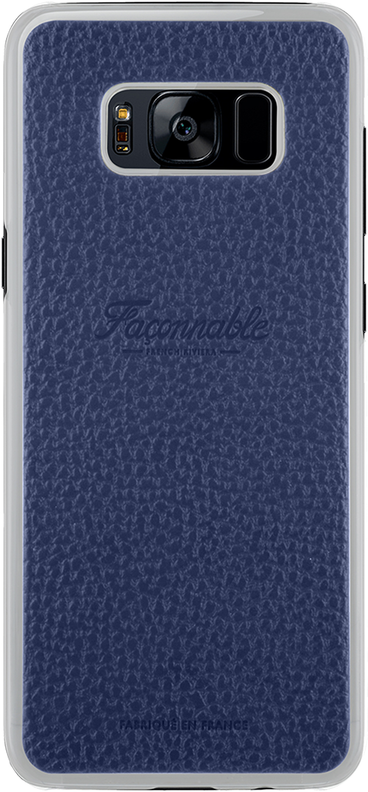 Coque rigide Façonnable French Riviera (Bleu) - Packshot