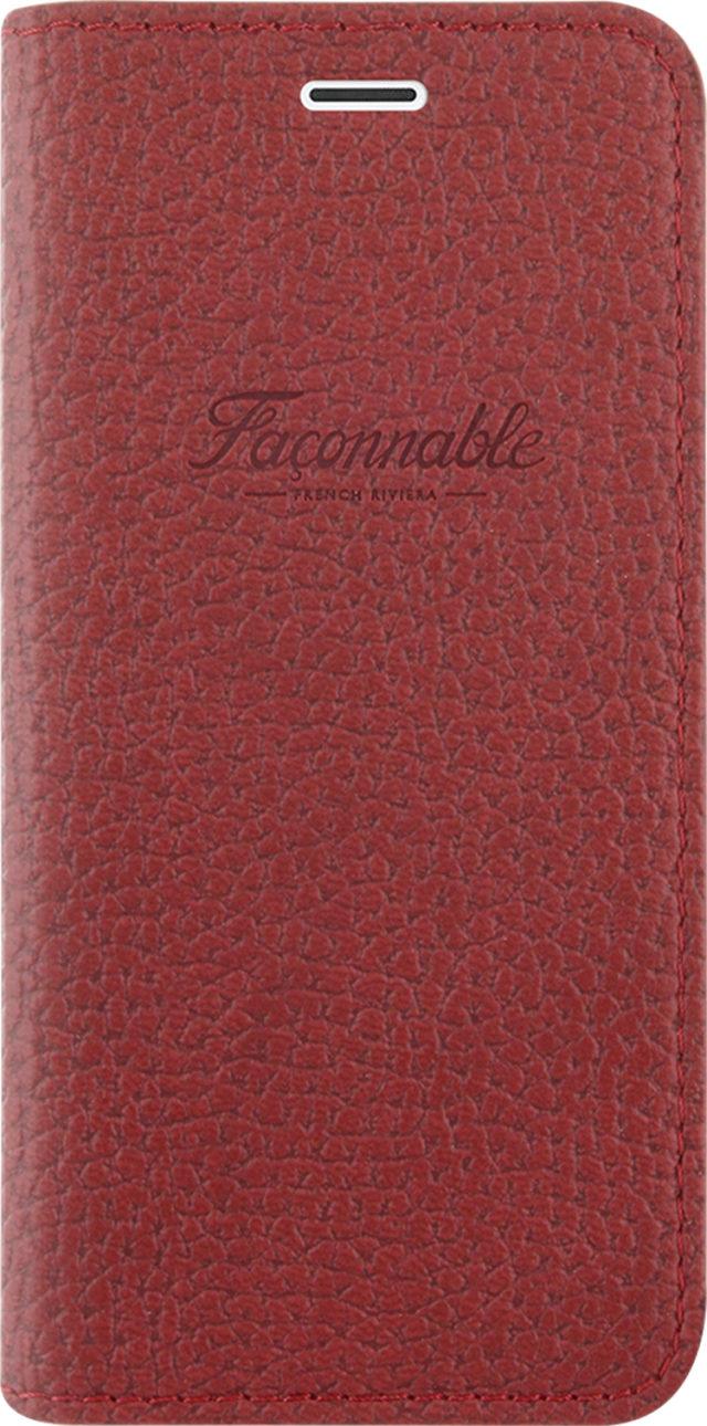 Étui folio Façonnable French Riviera (Rouge) - Packshot