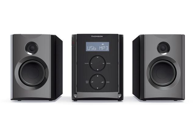 Micro chaine CD/MP3/USB/BLUETOOTH MIC105BT THOMSON - Packshot