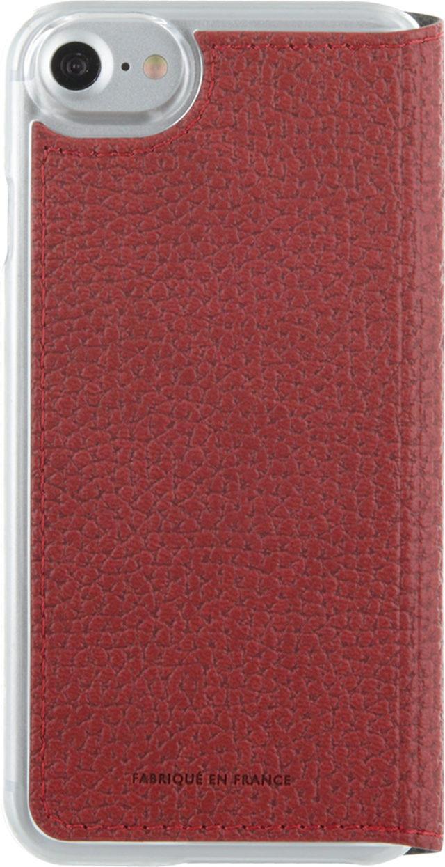 Étui folio Façonnable French Riviera (Rouge) – Visuel#1