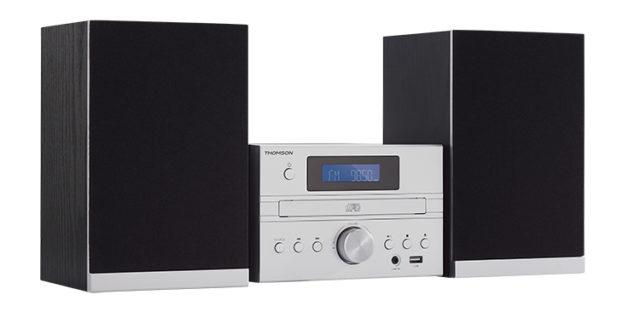 Micro chaîne CD/MP3/USB MIC122BT THOMSON – Visuel