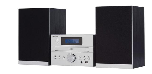 Micro chaîne CD/MP3/USB MIC122BT THOMSON – Visuel#1