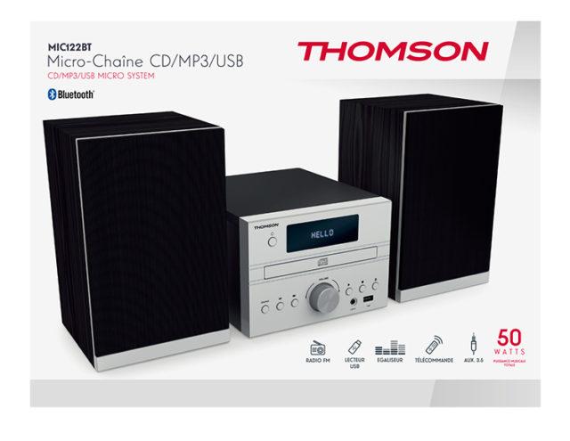 Micro chaîne CD/MP3/USB MIC122BT THOMSON – Visuel#2tutu
