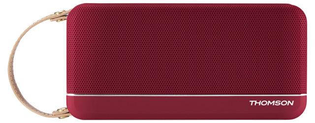 Enceinte sans fil portable (rouge metallisé) WS02RM THOMSON - Packshot