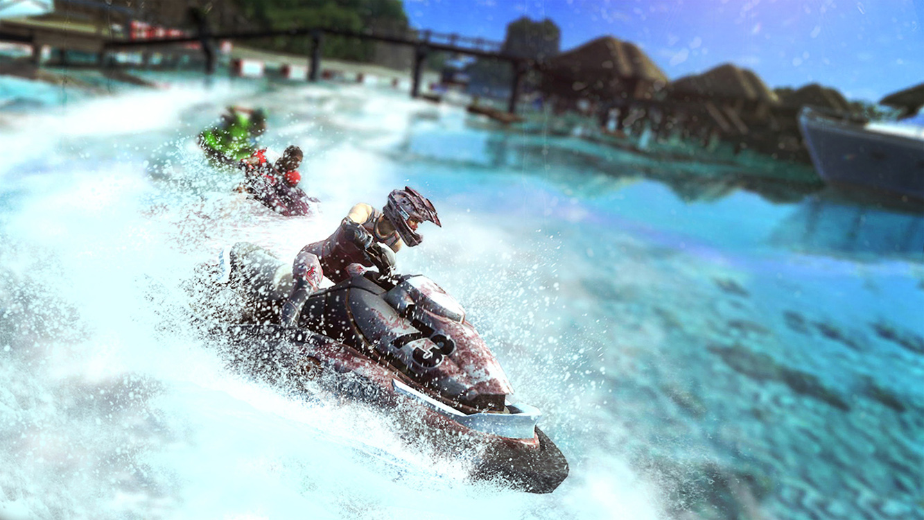 Aqua Moto Racing Utopia – Capture d'écran