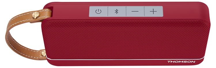 Enceinte sans fil portable (rouge metallisé) WS02RM THOMSON - Visuel#2tutu