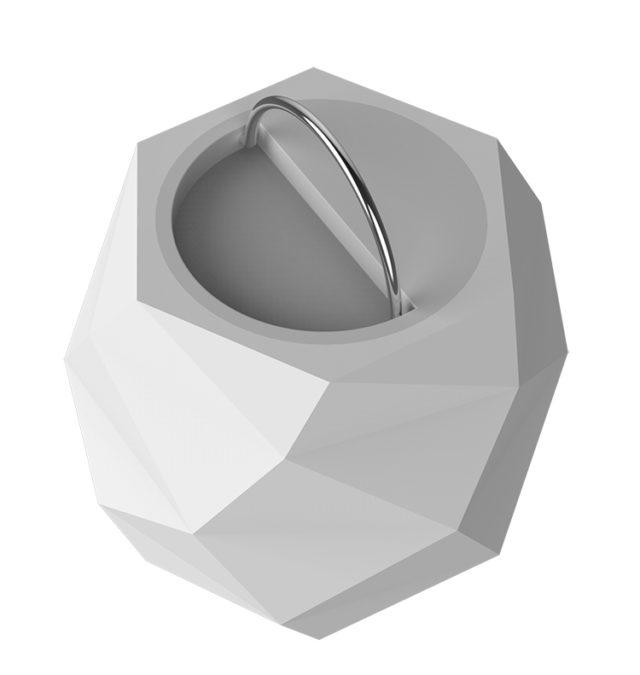 Lampe-enceinte Prisme Sphere Bluetooth CBLPRISMEM COLORBLOCK – Visuel#2tutu
