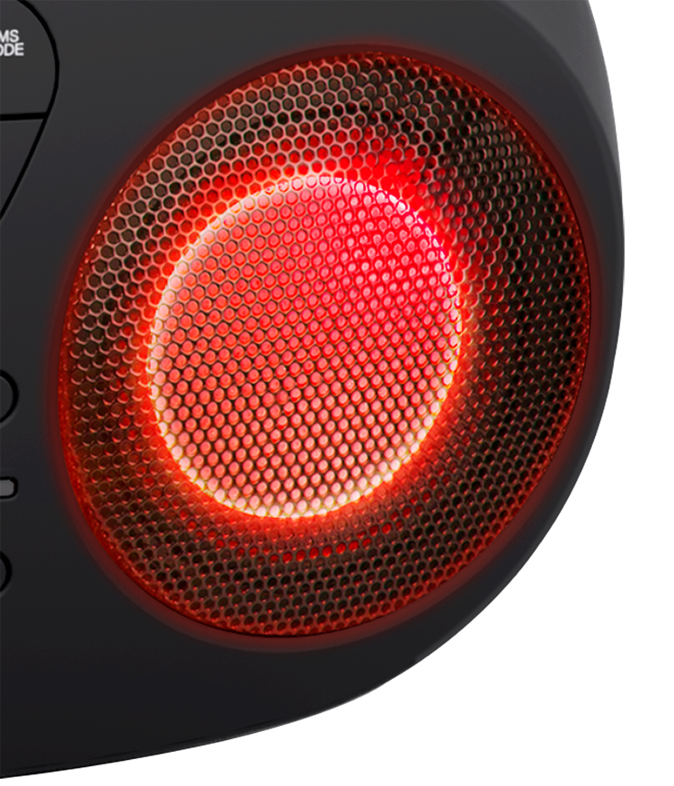 Lecteur CD/USB portable avec effets lumineux CD61NUSB BIGBEN - Visuel#2tutu#4tutu#6tutu