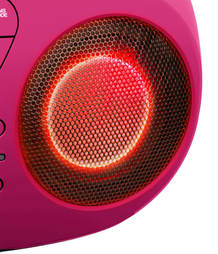Lecteur CD/USB portable avec effets lumineux CD61RUSB BIGBEN - Visuel#2tutu#4tutu#6tutu