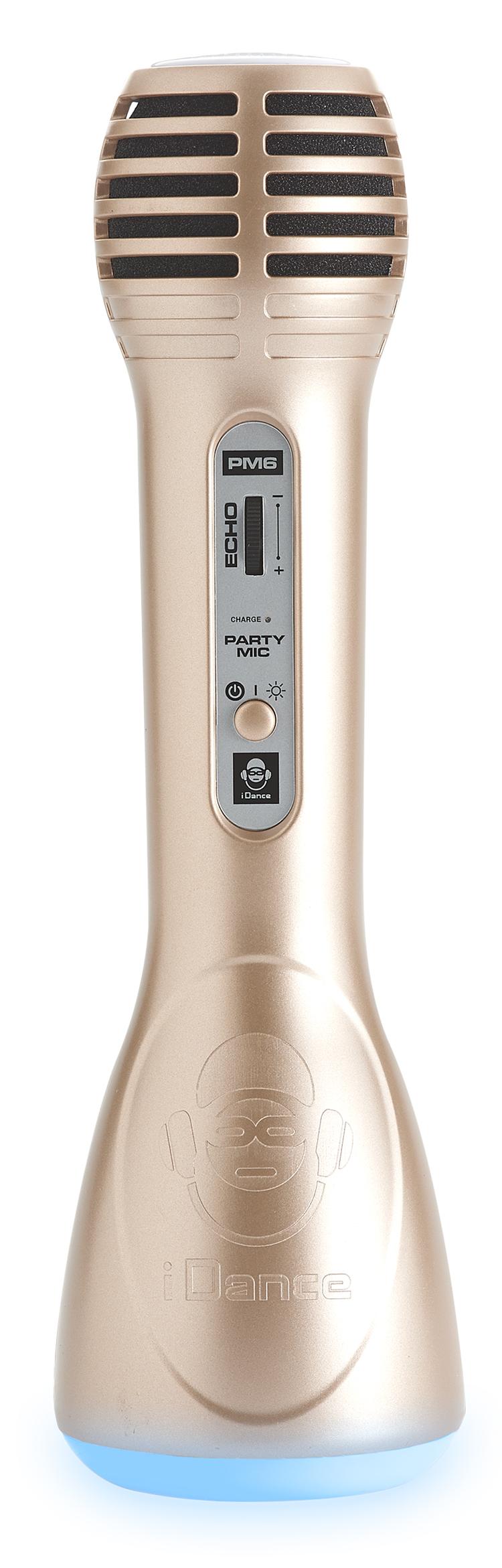 Microphone tout en un Bluetooth® et Karaoké PM6GD i Dance - Visuel