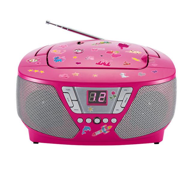Lecteur radio/CD portable CD60RSSTICK BIGBEN - Packshot