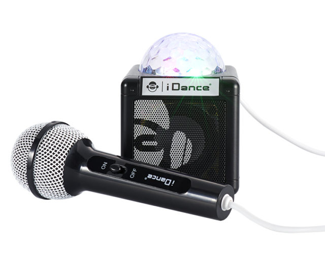 Enceinte Bluetooth avec boule disco CUBESING100BK I DANCE - Packshot