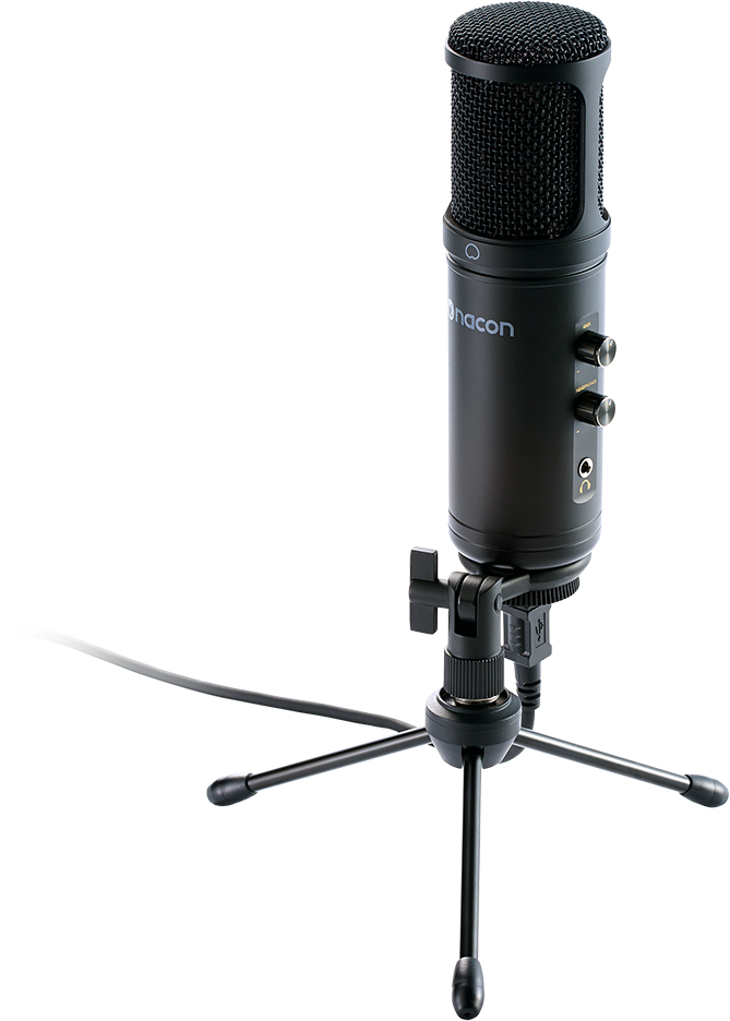 Microphone USB pour streaming professionnel et autres applications - Packshot