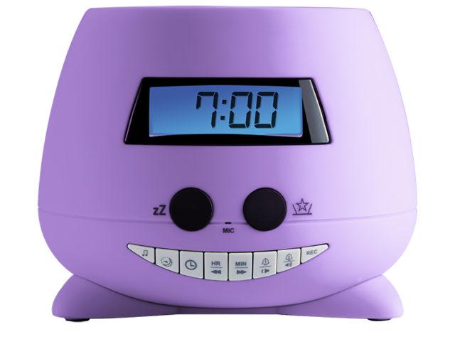 Réveil avec projecteur (my Violet) RPEUNICORN BIGBEN KIDS – Packshot