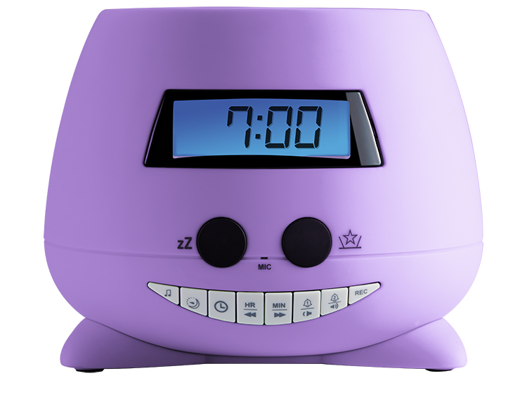 Réveil avec projecteur (my Violet) RPEUNICORN BIGBEN KIDS - Packshot