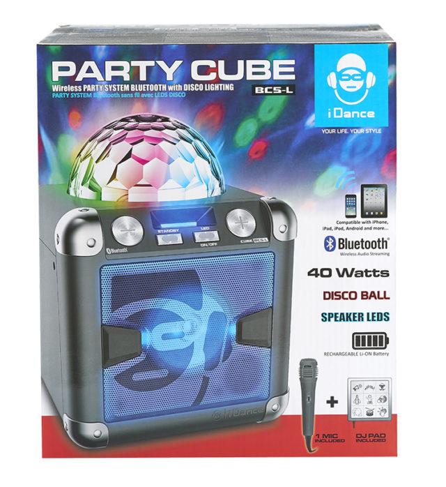 Système Bluetooth – Effet disco avec PAD JINGLE & sons BC5L I DANCE – Visuel