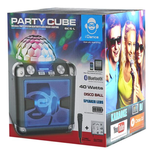 Système Bluetooth – Effet disco avec PAD JINGLE & sons BC5L I DANCE – Visuel#1