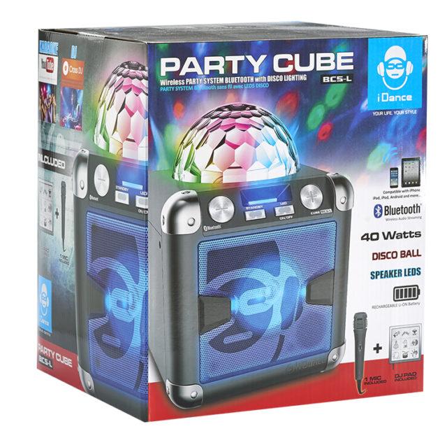 Système Bluetooth – Effet disco avec PAD JINGLE & sons BC5L I DANCE – Visuel#2tutu