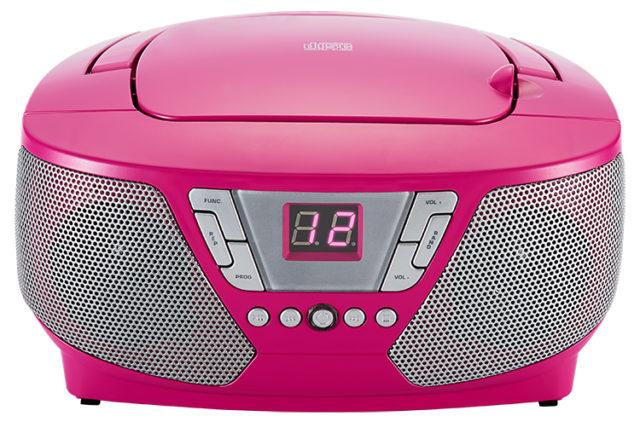 Lecteur radio/CD portable CD60RSSTICK BIGBEN – Visuel