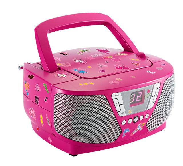 Lecteur radio/CD portable CD60RSSTICK BIGBEN – Visuel#2tutu