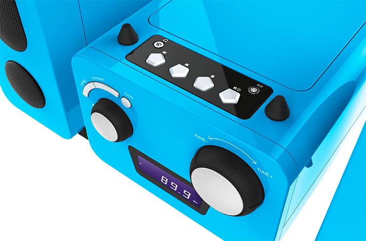 Mini-chaîne lecteur CD MCD11BLUNICORNSTICK BIGBEN KIDS - Visuel#2tutu