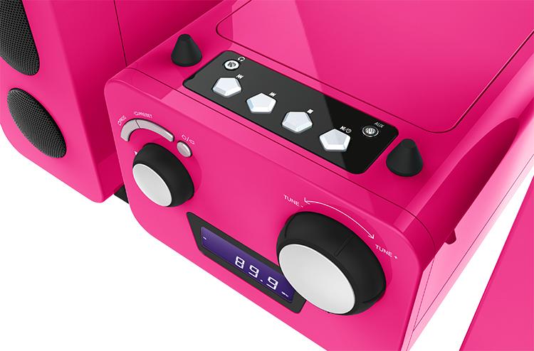 Mini-chaîne lecteur CD MCD11RSUNICORNSTICK BIGBEN KIDS - Visuel#2tutu#4tutu