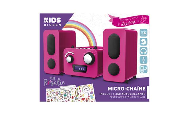 Mini-chaîne lecteur CD MCD11RSUNICORNSTICK BIGBEN KIDS – Visuel#2tutu#4tutu#5