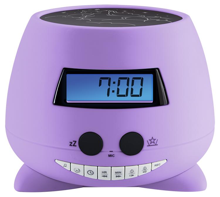 Réveil avec projecteur (my Violet) RPEUNICORN BIGBEN KIDS - Visuel