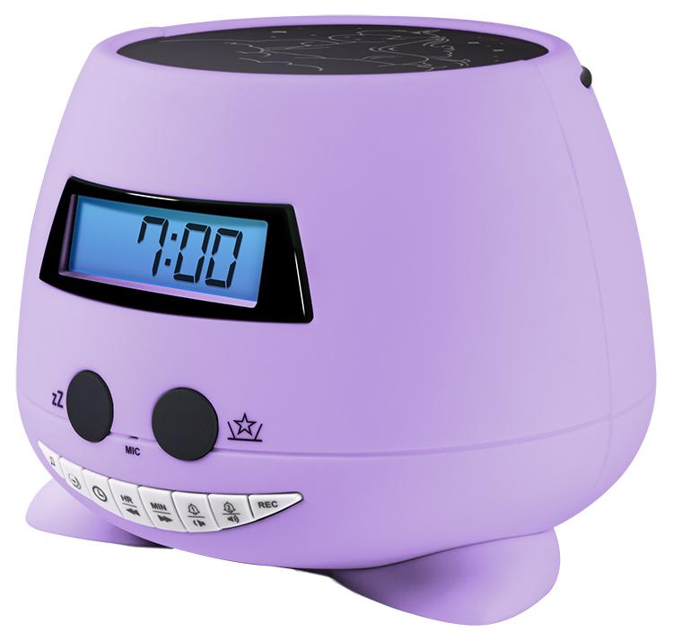 Réveil avec projecteur (my Violet) RPEUNICORN BIGBEN KIDS - Visuel#1
