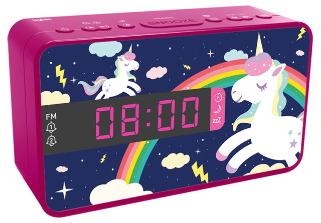 Radio réveil double alarme RR16UNICORN2 BIGBEN KIDS – Visuel#2tutu#4tutu#5