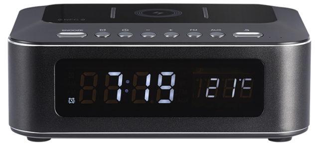 Radio réveil avec chargeur sans fil CR400IBT THOMSON – Packshot