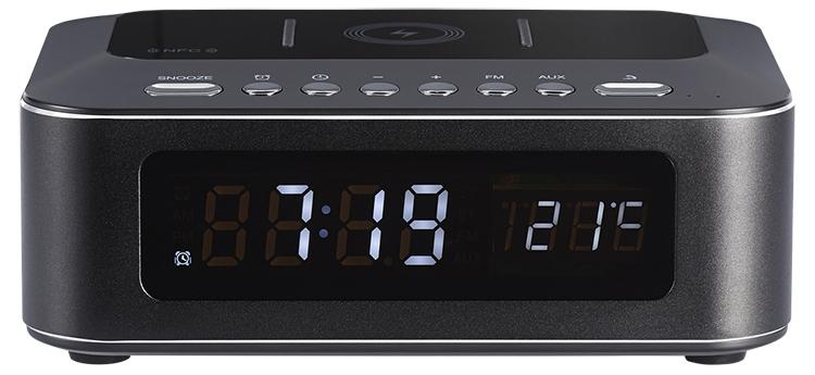 Radio réveil avec chargeur sans fil CR400IBT THOMSON - Packshot