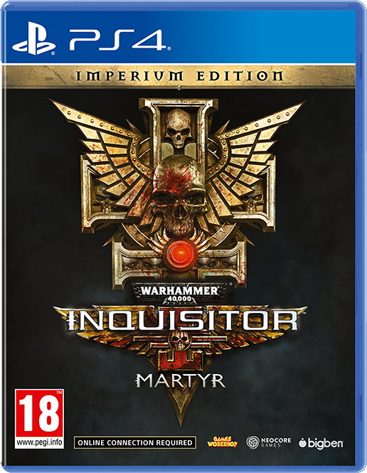 Warhammer 40000 Inquisitor Martyr Imperium Edition - Packshot