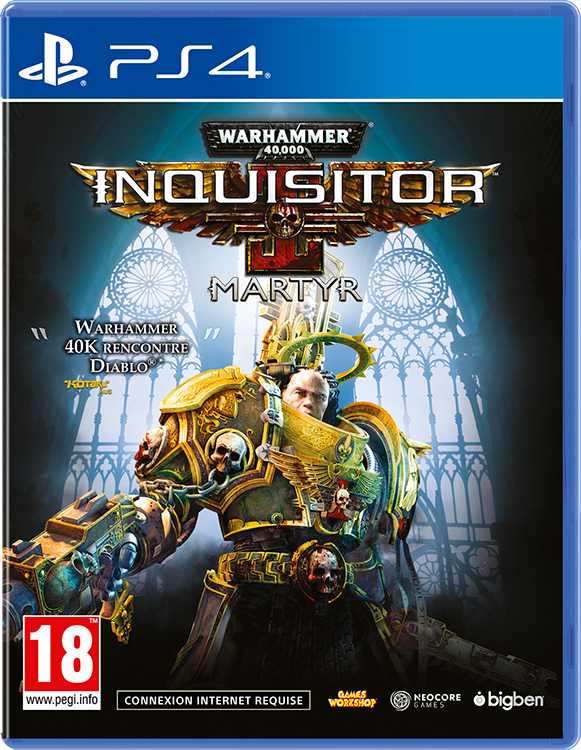 Warhammer 40000 Inquisitor Martyr - Packshot