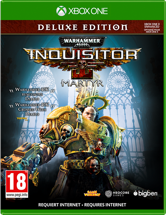 Warhammer 40000 Inquisitor Martyr Deluxe Edition - Packshot