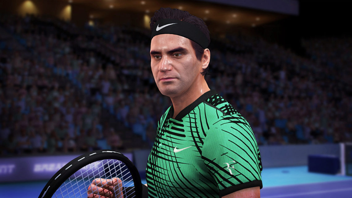 Tennis World Tour Legends Edition - Capture d'écran
